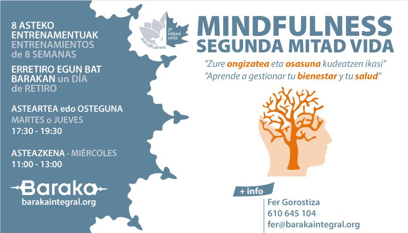 MINDFULNESS SEGUNDA MITAD VIDA