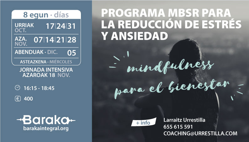 programa MBSR reducción estrés y ansiedad