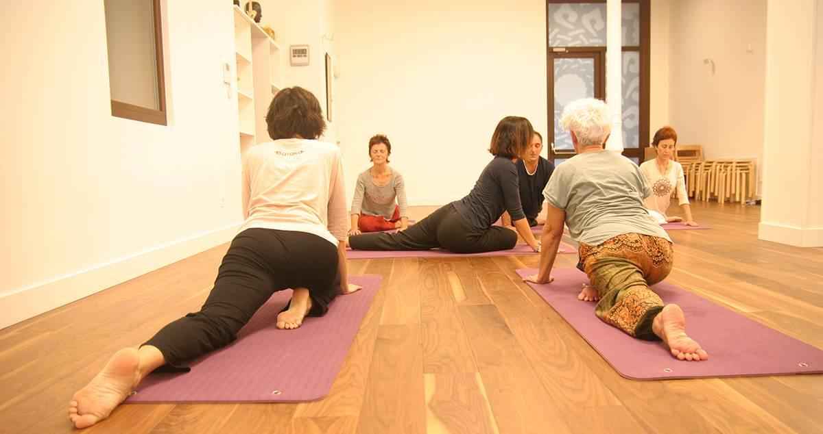 Baraka yoga avanzado y profesores