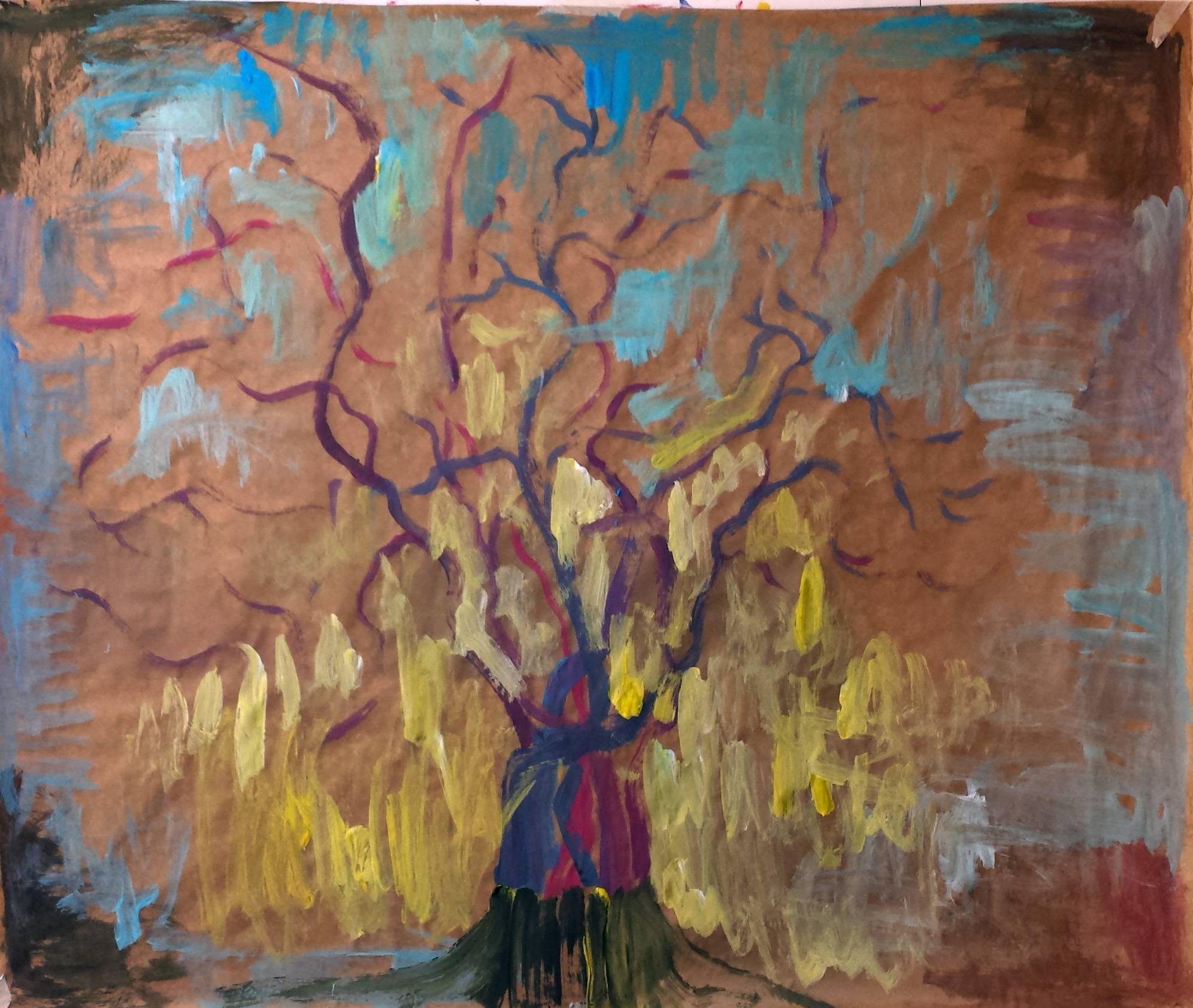 Baraka árbol pintado