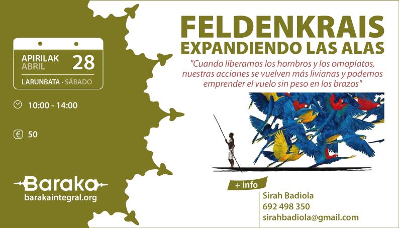 FELDENKRAIS: EXPANDIENDO LAS ALAS