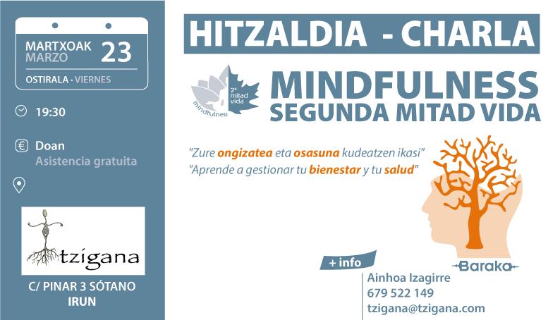 CHARLA MINDFULNESS 2MV IRÚN