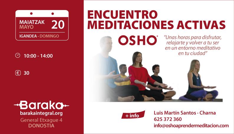 meditaciones osho