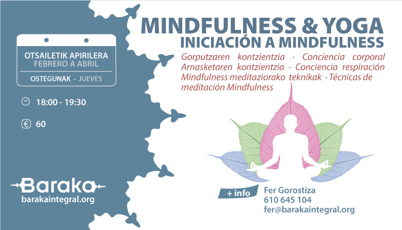 Mindfulness&Yoga: INICIACIÓN A MINDFULNESS