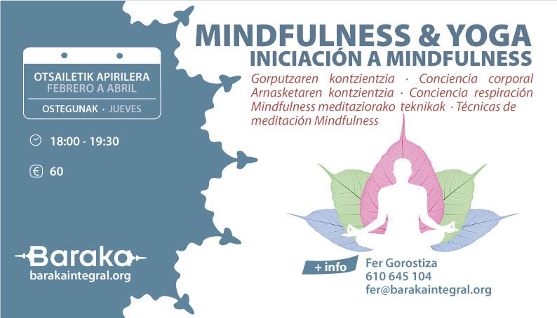 Baraka Mindfulness&Yoga: INICIACIÓN A MINDFULNESS