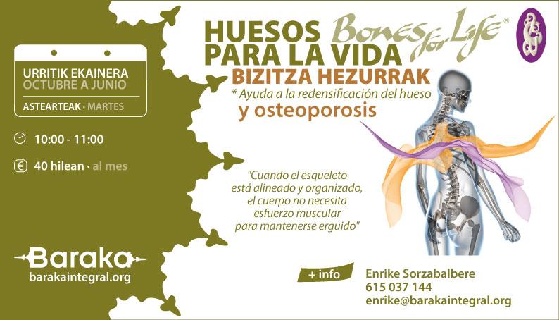 BONES FOR LIFE · HUESOS PARA LA VIDA
