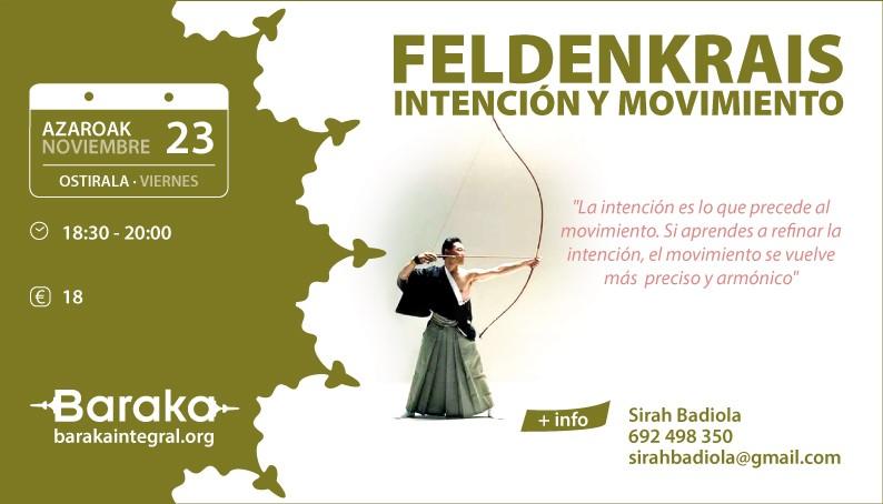 Feldenkrais: Intención y Movimiento