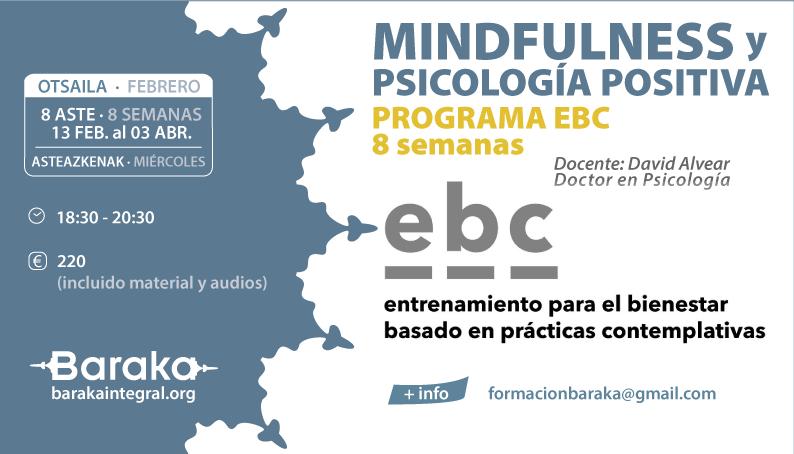 Baraka EBC MINDFULNESS Y PSICOLOGÍA POSITIVA