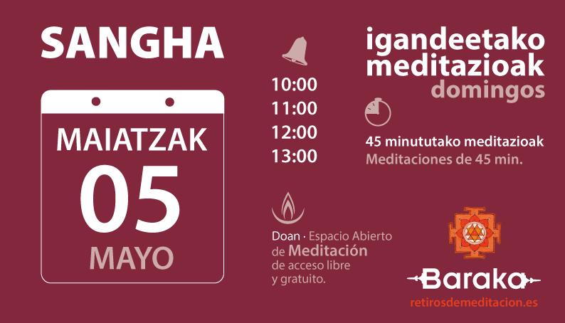 Sangha. Meditación abierta