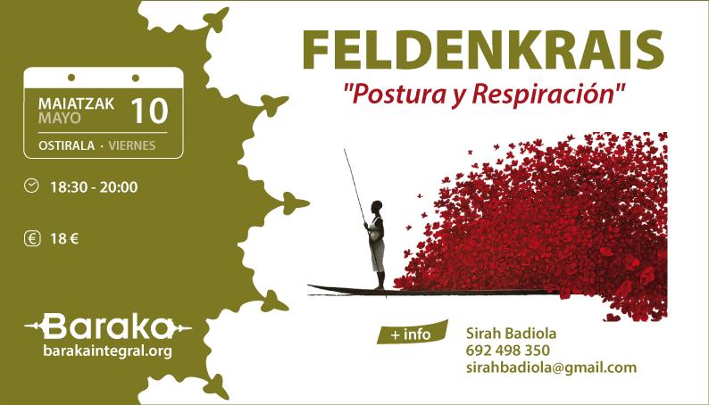 Baraka Feldenkrais Postura y Respiración