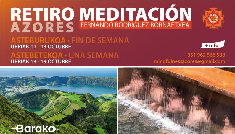 RETIRO MEDITACIÓN AZORES