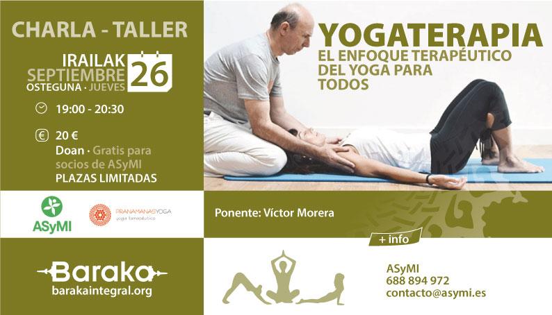 Baraka Yogaterapia charla - taller