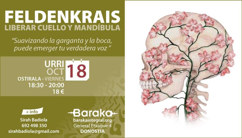 Baraka Feldenkrais cuello y mandíbula