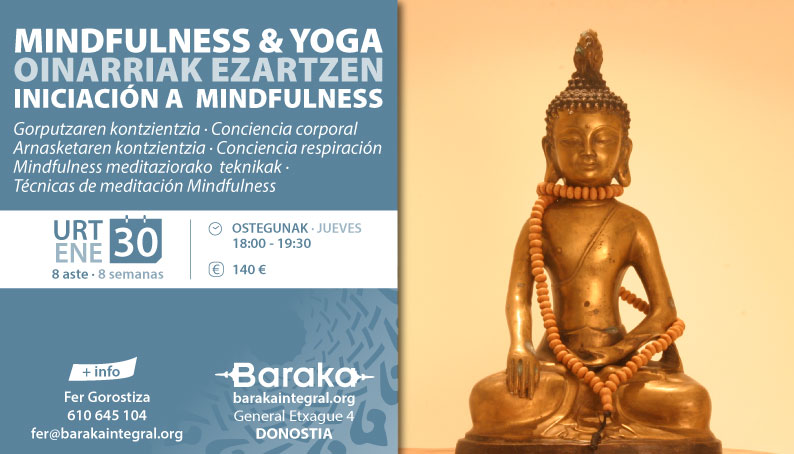 MINDFULNESS & YOGA: INICIACIÓN A MINDFULNESS