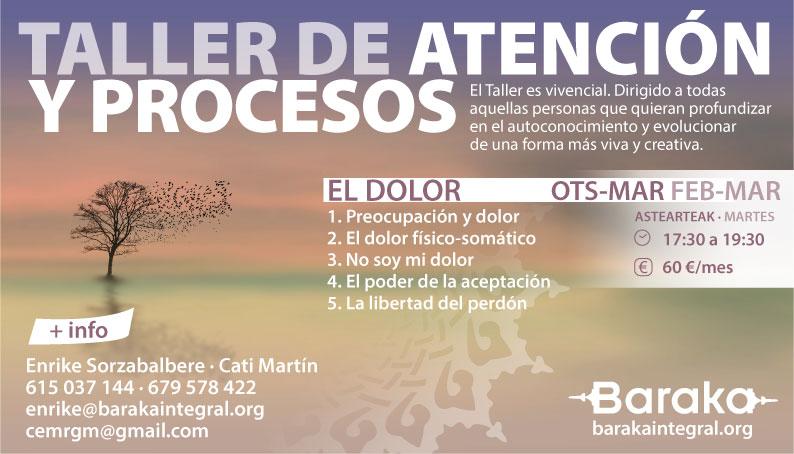 BARAKA EL DOLOR ATENCIÓN Y PROCESOS