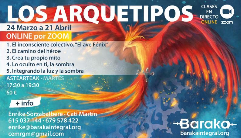 Baraka TALLER DE ATENCIÓN Y PROCESOS: LOS ARQUETIPOS