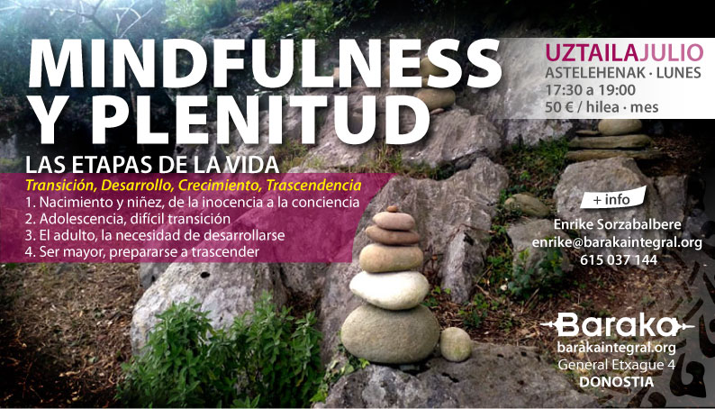MINDFULNESS Y PLENITUD JULIO