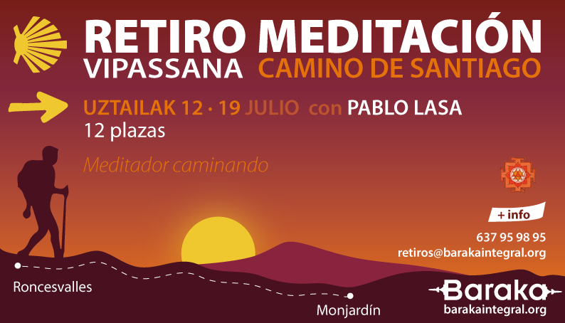 Retiro Meditación Vipassana Camino Santiago
