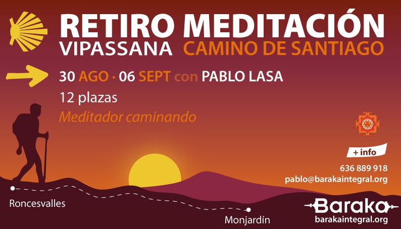 Baraka Retiro Vipassana Camino Santiago