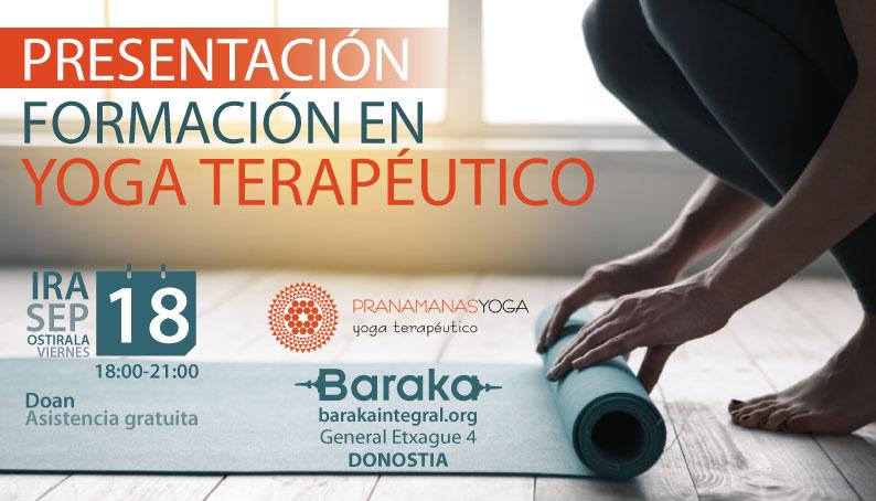 Baraka Presentación Formación Yogaterapéutico