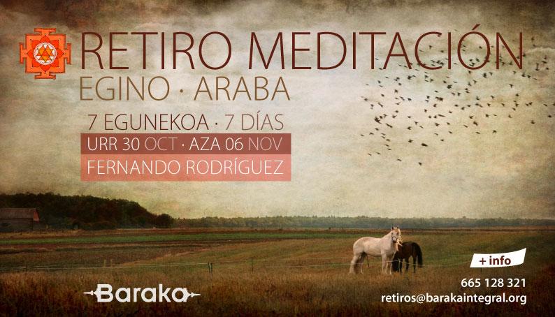 Baraka retiro meditación semana
