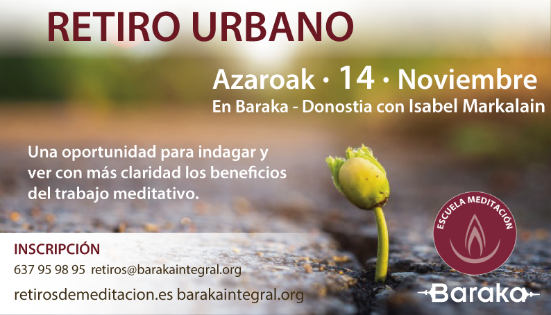 Retiro urbano 14 de noviembre
