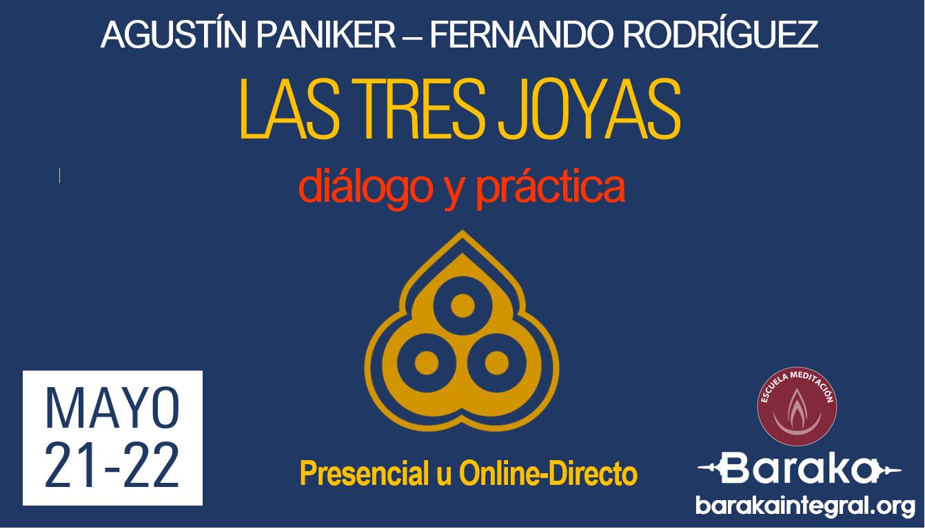 Taller sobre las 3 joyas con Agustín Paniker y Fernando Rodríguez